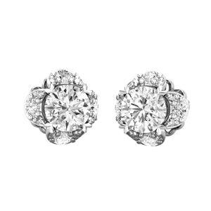 2bd22ae82 Buy PreSet Solitaire Earrings 0.84 CT / 2.10 gm Gold Online at Lowest Price  in India