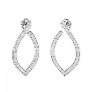 420039263 Buy Diamond Earrings 0.76 CT / 5.37 gm Gold Online at Lowest Price ...