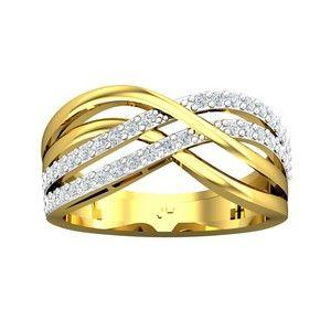 6eba0bcea Buy Diamond Ring 0.43 CT / 3.47 gm Gold Online at Lowest Price in India