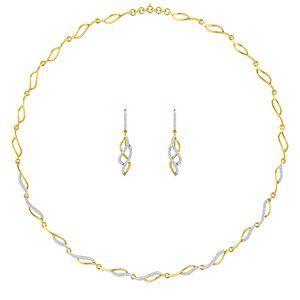 7fb4c26c4 Buy Diamond Necklace Set Online at Lowest Price in India