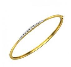 Diamond Bracelets 0.36 CT / 8.00 gm Gold