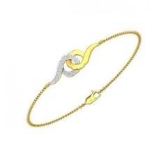 Diamond Bracelet 0.19 CT / 5.25 gm Gold