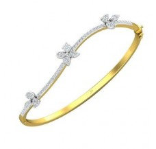 Diamond Bracelets 0.95 CT / 11.00 gm Gold