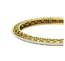 Diamond Bangles 2.48 CT / 23.00 gm Gold