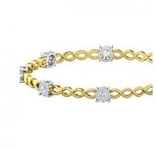 Diamond Bangles 1.68 CT / 12.47  gm Gold
