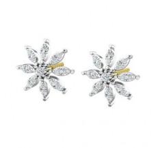 Diamond Earrings 0.56 CT / 4.20 gm Gold