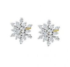 Diamond Earrings 0.47 CT / 3.25 gm Gold