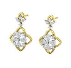 Diamond Earrings 0.61 CT / 6.61 gm Gold