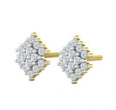 Diamond Earrings 0.36 CT / 2.74 gm Gold