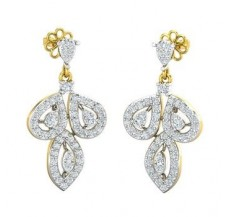 Diamond Earrings 1.17 CT / 6.06 gm Gold