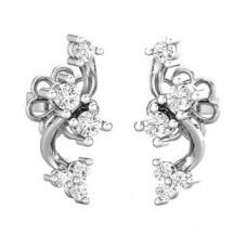 Diamond Earrings 0.21 CT / 1.68 gm Gold