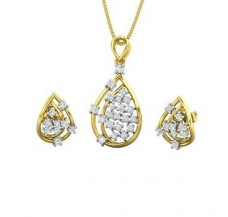 Diamond Pendant Half Set - 0.50 CT / 5.86 gm Gold