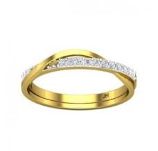 Diamond Designer Ring 0.14 CT / 2.17 gm Gold