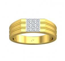 Diamond Ring for Men 0.36 CT / 6.75 gm Gold