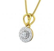 Diamond Pendant 0.18 CT / 0.95 gm Gold