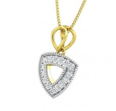 Diamond Pendant 0.18 CT / 1.15 gm Gold