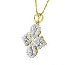 Diamond Pendant 0.73 CT / 3.90 gm Gold
