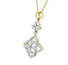 Diamond Pendant 0.63 CT / 3.63 gm Gold