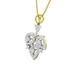 Diamond Pendant 0.61 CT / 2.53 gm Gold