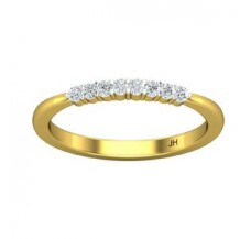 Diamond Ring 0.13 CT / 2.09 gm Gold
