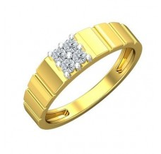 Diamond Ring for Men 0.24 CT / 4.15 gm Gold