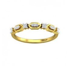 Diamond Ring 0.16 CT / 1.80 gm Gold