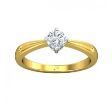 PreSet Solitaire Ring 0.40 CT / 2.90 gm Gold