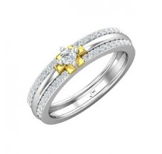 Diamond Band for HER 0.38 CT / 3.50 gm Gold