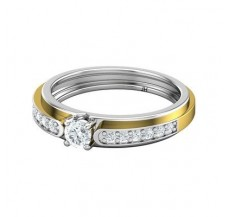Diamond Band for HER 0.36 CT / 3.40 gm Gold