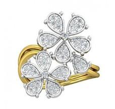 Diamond Ring 0.42 CT / 4.16 gm Gold