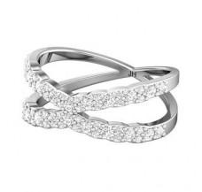 Diamond Ring 0.62 CT / 3.40 gm Gold