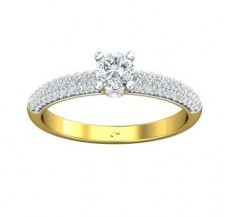 PreSet Solitaire Ring 0.60 CT / 2.62 gm Gold